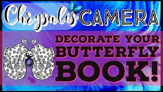Butterfly Books - Decorate your Writer's Notebook