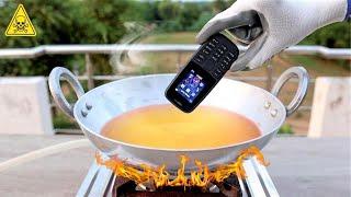 Boiling Mobile Phone In Hot Oil ⚠️ये कभी गलती से भी मत करना⚠️ Shocking Results