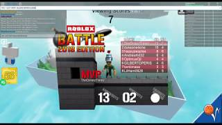 BEST KO DUDE EVER! (Roblox Battle 2018 Version)