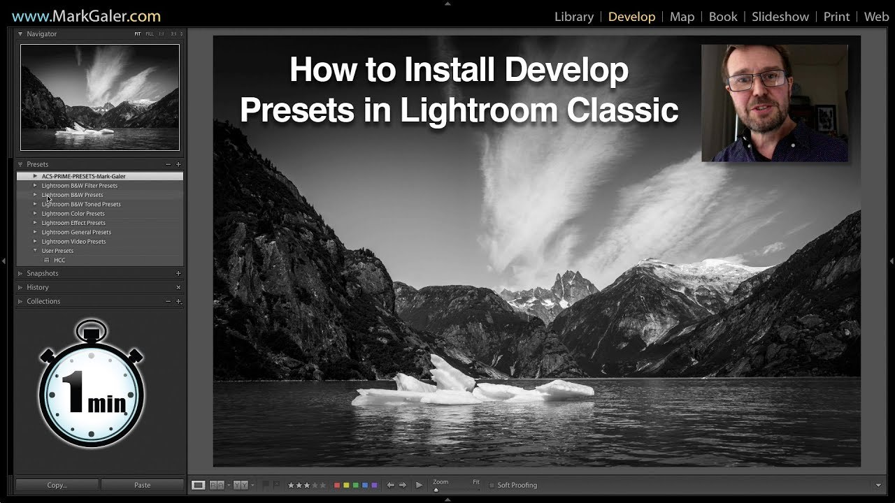 How to Install Develop Presets in Lightroom Classic
