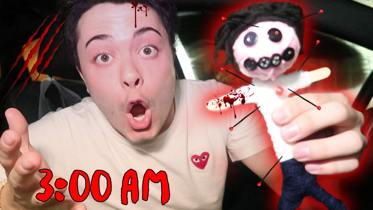 DO NOT USE A REAL LIFE VOODOO DOLL AT 3:00 AM | THIS IS WHY | 3 AM VOODOO  DOLL CHALLENGE!