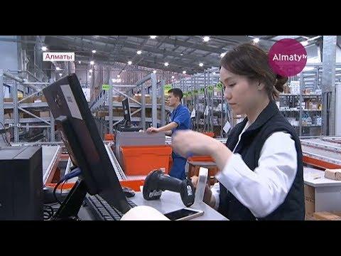 Самый технологичный в Казахстане склад для лекарств открыли в Алматы (23.06.17)