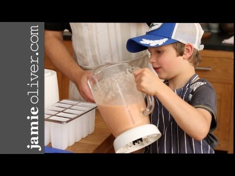 Getting kids into kitchens - Iced Fruit Smoothies