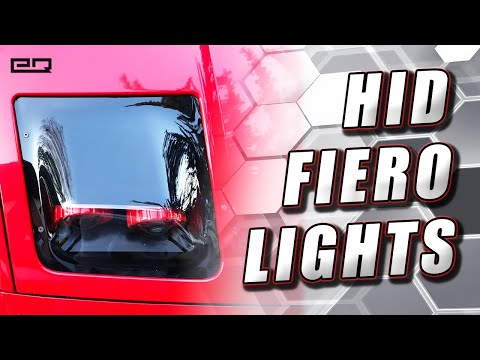 How To Install Embrace Racing Quad Bi-Xenon Flushmount Headlights (Pontiac Fiero)