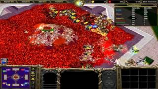 Warcraft III: TFT - (CUSTOM) 166 - Blood Tournament - My people