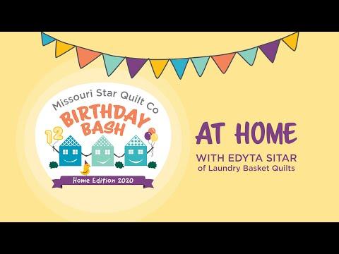Birthday Bash Home Edition: Edyta Sitar Studio Tour
