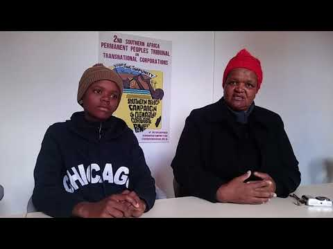 Rural Women Assembly (Swaziland) at SADC Peoples Summit 2017