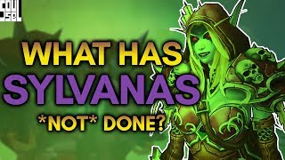 Sylvanas and the Wrathgate: Should We Be Surprised? World of Warcraft Battle for Azeroth