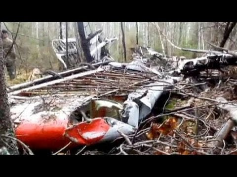 Campers stumble across lost Russian airplane