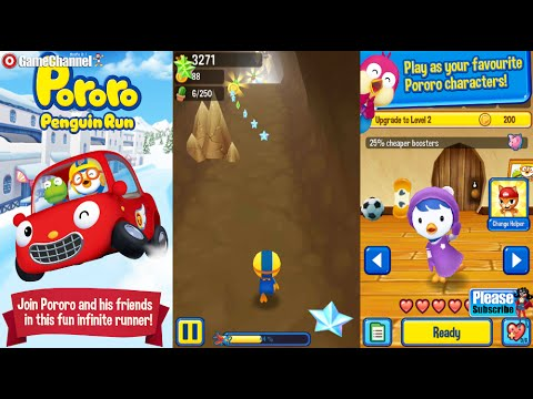 Pororo Penguin Run Android İos  Free Game GAMEPLAY VİDEO