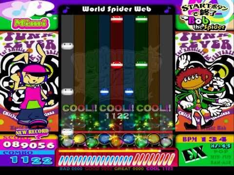 pop'n music FEVER! CS - World Spider Web (EX) Autoplay