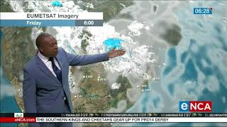Weather forecast for 24 January 2020