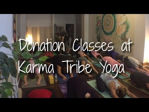 Donation Classes at Karma Tribe Yoga