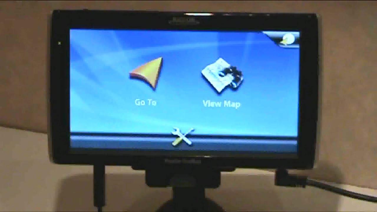 Magellan RoadMate 1700 backup camera sys wmv