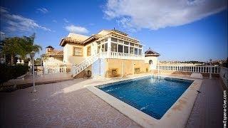 Купить виллу в Испании на берегу моря Коста Бланка 5 спален
