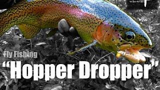 "W4F - Fly Fishing ""Hopper Dropper"" Late Summer Terrestrials"