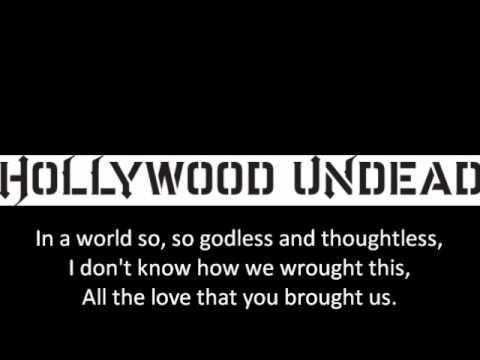 hollywood undead - circles with lyrics