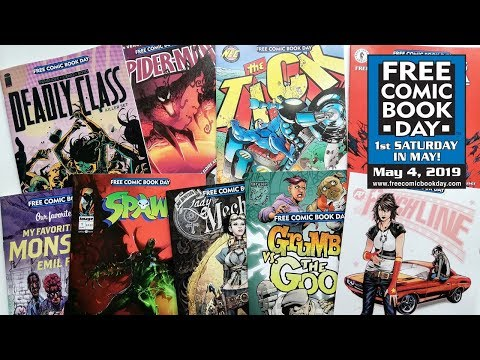 My Free Comic Book Day 2019 Haul | Vlog 23