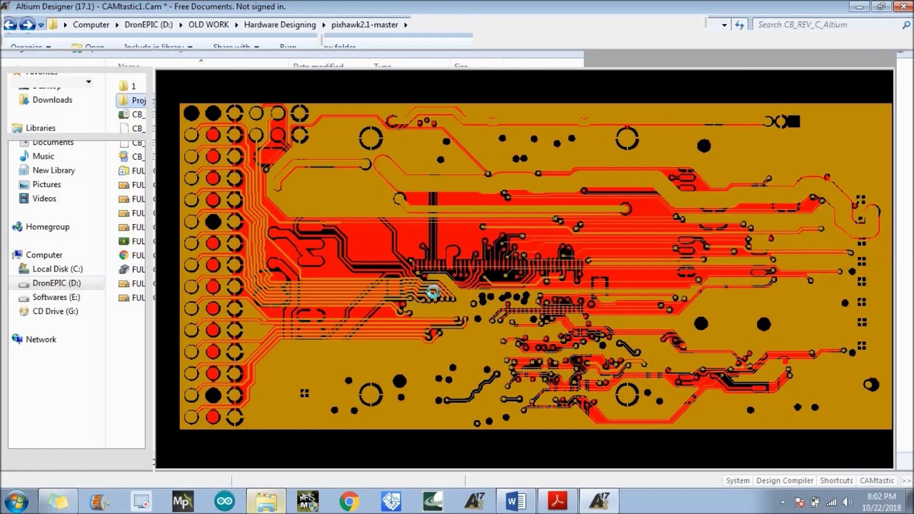 How to create Gerber Files and NC Drill Files in Altium Designer
