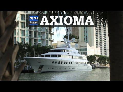 AXIOMA | 72 Meter Superyacht at Sunrise in Miami