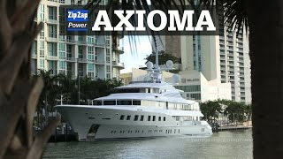 AXIOMA | 72 Meter Superyacht at Sunrise in Miami