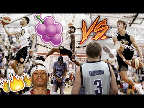 Mac McClung EPIC DUNK CONTEST BATTLE VS Kevin Porter and JELLY FAM! Allen Iverson