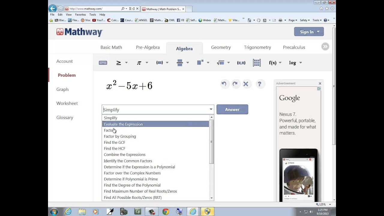 MathWay Explanation - YouTube