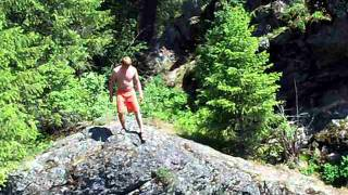 Horseshoe Lake Cliff Jumping-Devils Well