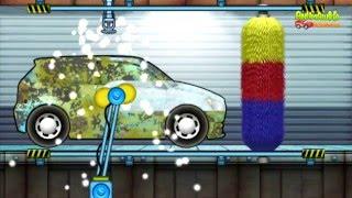 Машинки в мультике Авто мойка. Учим виды авто моек. Видео для детей.