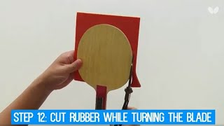 How To Assemble Your Own Table Tennis Racket