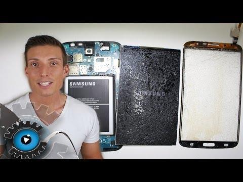 Samsung Galaxy Mega 6.3 Glas Digitizer Wechseln Tauschen Reparieren [Deutsch]
