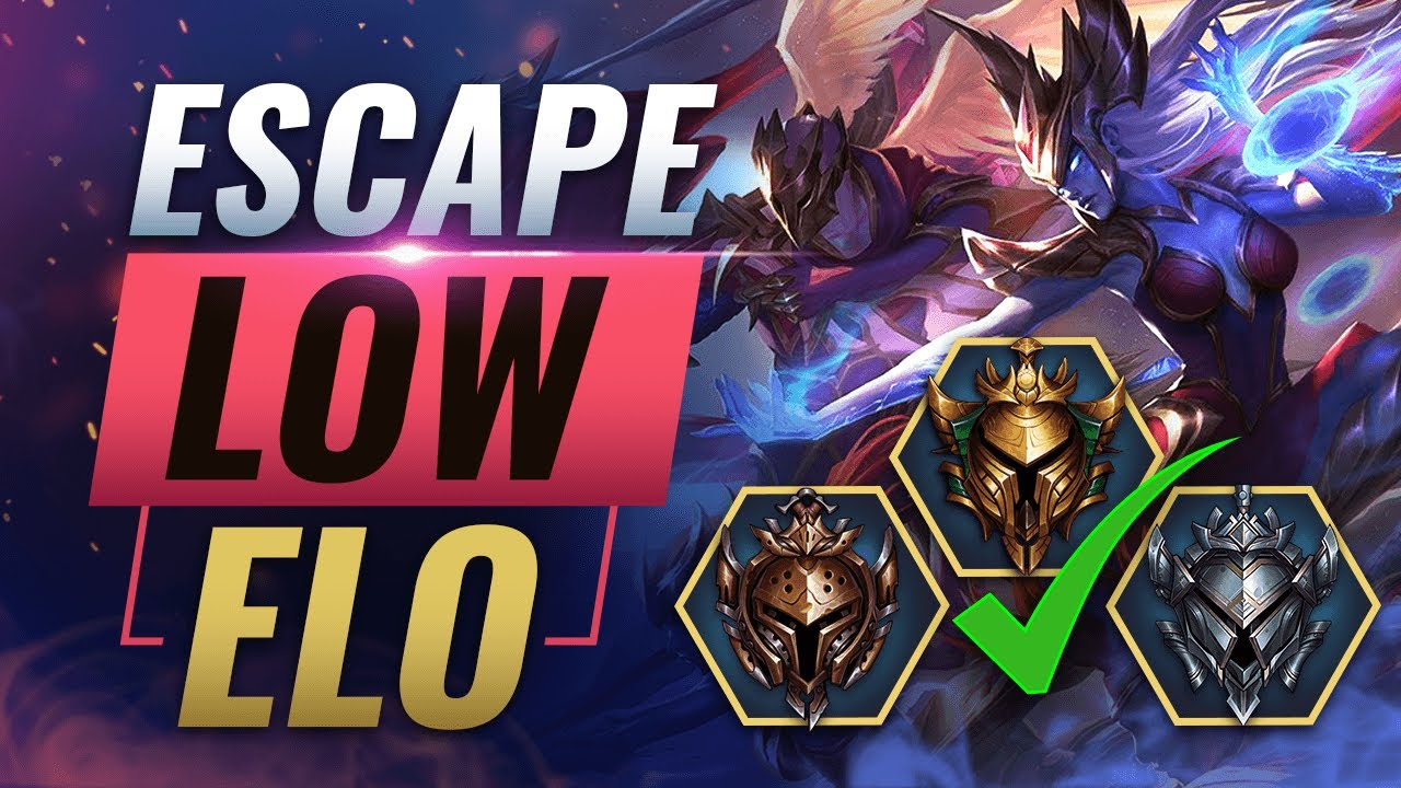 The Ultimate Guide To Escaping Low Elo Gold Silver Bronze Iron League Of Legends Season 10 Youtube