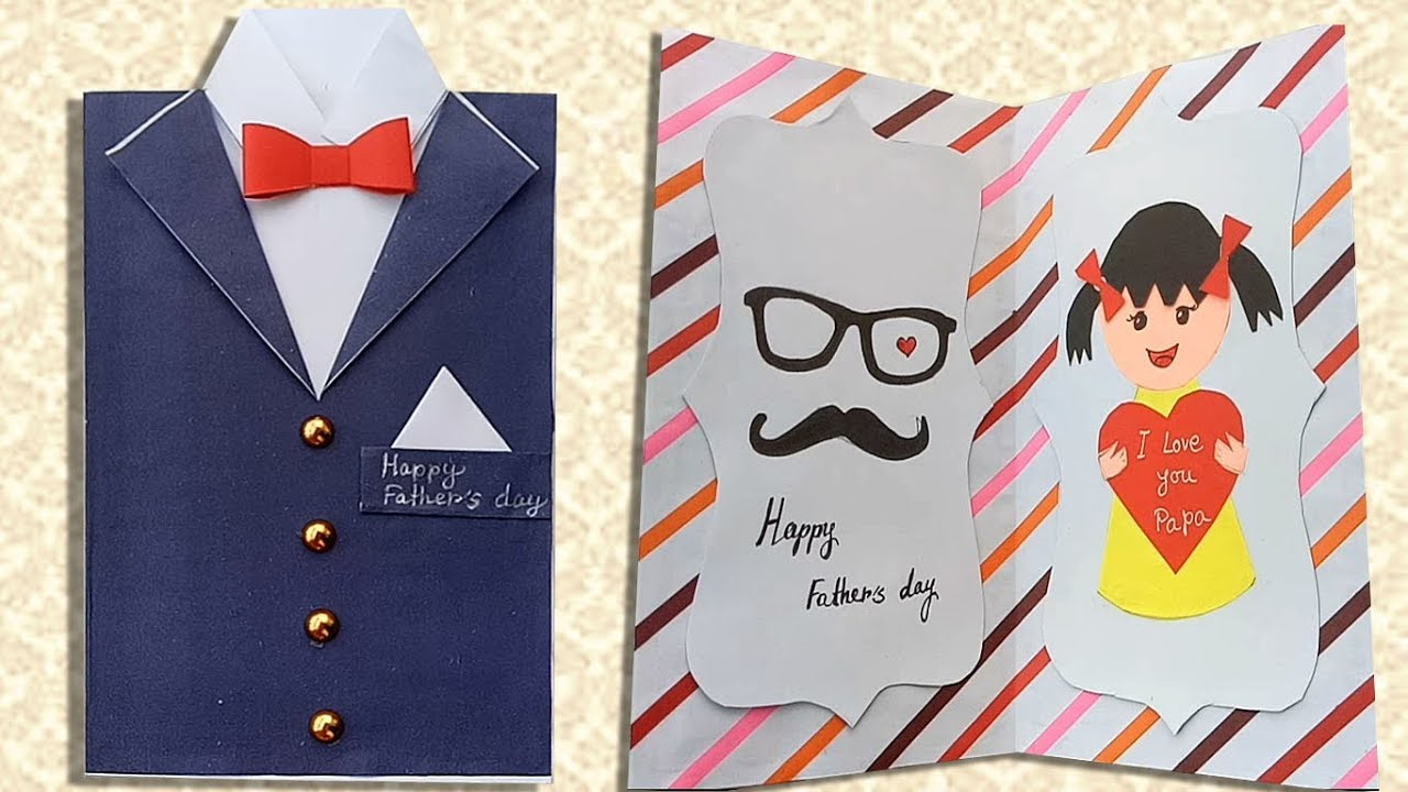 Diy Father S Day Greeting Card Ideas Handmade Father S Day Cards