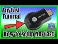 AnyCast Setup Tutorial | iPhone and Android methods | M2 Wireless HDMI Receiver