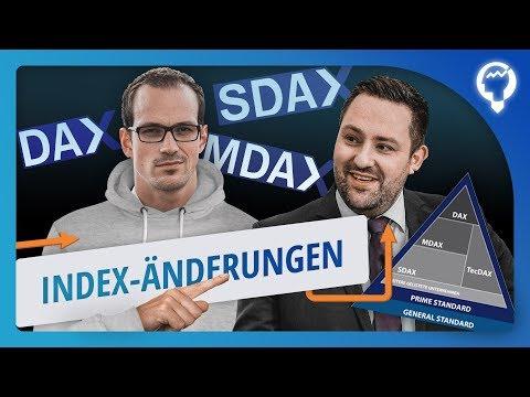 Spekulation auf INDEX-Änderungen? MDAX, SDAX, TECDAX Neugestaltung