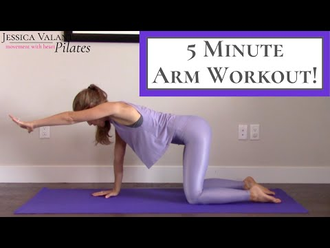 5 Minute Arm Workout - No Equipment Needed!