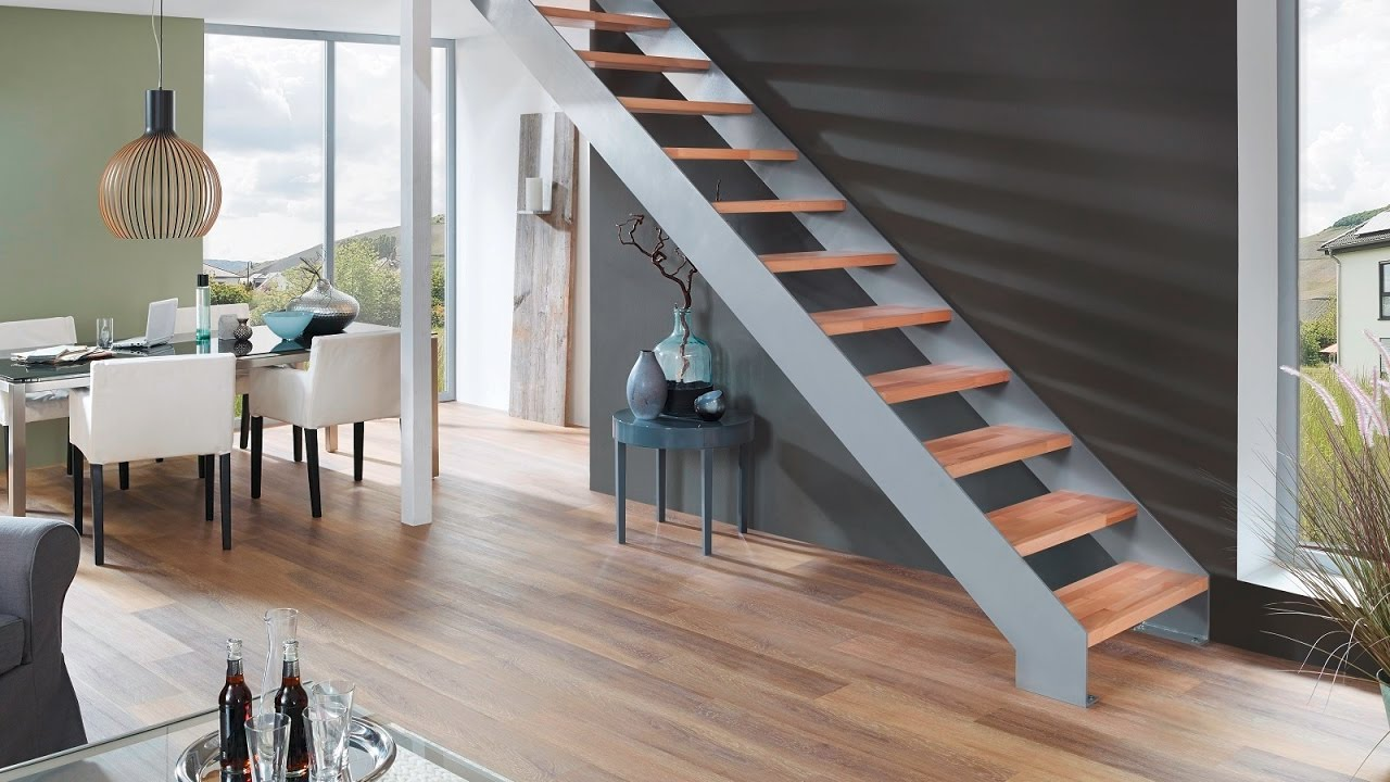 montage lasergeschnittene stahlwangentreppe toronto youtube. Black Bedroom Furniture Sets. Home Design Ideas