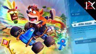 Crash Team Racing Nitro Fueled | FUN RACING KART GAME | PS4 Gameplay