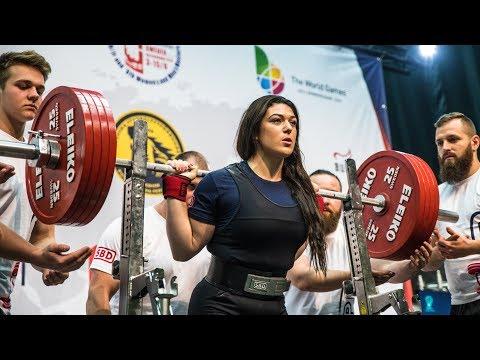 Daniella Melo Vs Amanda Lawrence IPF WORLDS 2019