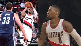 Blazers, cj mccollum roast chandler parsons! lillard 15 pts 4th qtr! grizzlies vs blazers