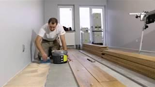 Od deski do deski #1 | Montaż podłogi drewnianej krok po kroku| Jawor-Parkiet