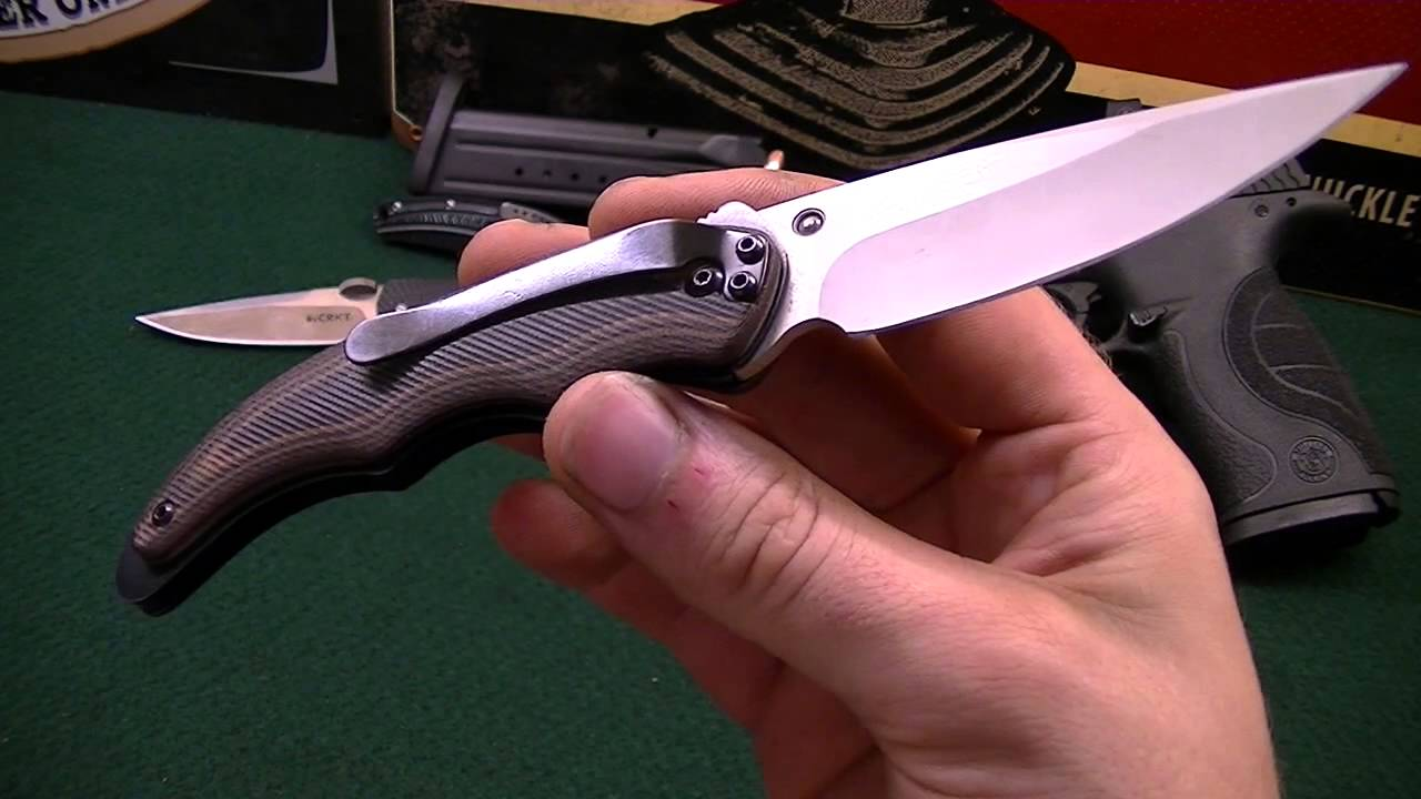 crkt m16-10ks how to close