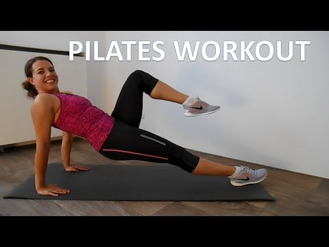 20 Minute Pilates Workout For Weight Loss – Intermediate Low Impact Pilates Workout At Home