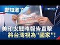 美印太戰略報告將台灣視為國家 若貿易戰有解.國民黨當選…會有所改變?|呂惠敏代班主持|【鄭知道了完整版】20190607|三立iNEWS