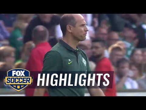 Werder Bremen vs. FC Augsburg | 2016-17 Bundesliga Highlights