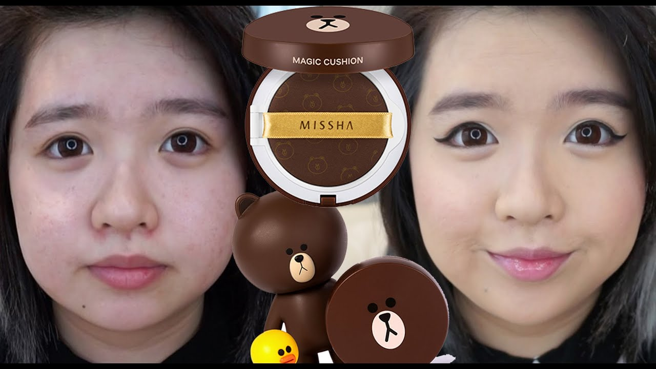 Missha Line Bear Magic Cushion First Impression Review