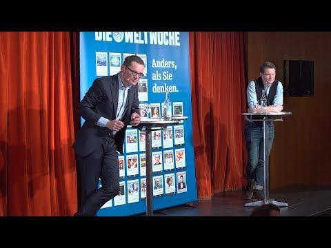 Weltwoche On the Road: Fabian Unteregger & Roger Köppel