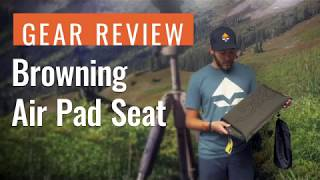 Gear Review: Browning Air Pad Seat