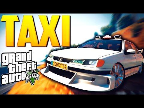 GTA 5 Моды: TAXI - Настоящие Машины!