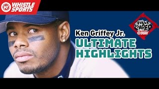 Ken Griffey Jr. HIGHLIGHTS | MLB Hall Of Fame 2016